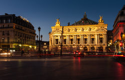 Opera Garnier, Paris, France Royalty Free Stock Images