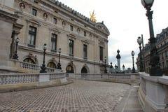 Opera Garnier - Paris - France. The facade of the Opera Garnier in Paris (France). La façade de lOpéra Garnier à Paris (France royalty free stock images