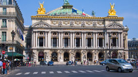 Opera Garnier, Paris, France. Stock Image