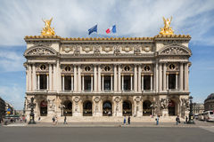 Opera Garnier in Paris Stock Photos