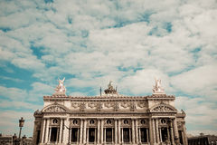 The Opera Garnier in paris France Royalty Free Stock Images