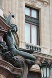 Opera Garnier - Paris - Frankrike Arkivfoton