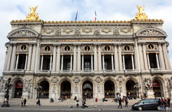 The Opera Garnier in Paris Royalty Free Stock Images