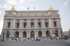 The Opera Garnier in Paris Royalty Free Stock Photos