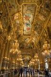 Opera  Garnier theatre interior Stock Photos