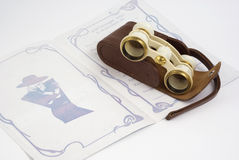 Opera glasses Royalty Free Stock Photography