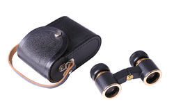 Opera glasses with case Stock Images
