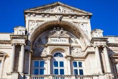 Opera Grand Avignon Theatre at Place de l`Horloge in Avignon stock image