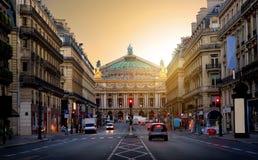 Opera grande em Paris imagens de stock royalty free