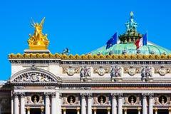 Opera grande (Opera Garnier), Paris, França Fotos de Stock
