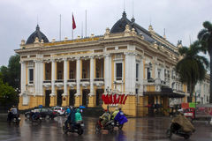 Opera in Hanoi Royalty Free Stock Photo