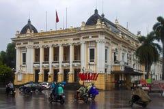 Opera in Hanoi Royalty Free Stock Photo