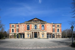 Opera house. In Bayreuth Germany - Bavaria stock images