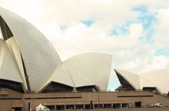 Opera house. The Sydney Opera House in the city of Sydney in Australia Royalty Free Stock Photos