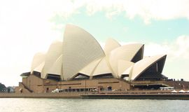 Opera house. The Sydney Opera House in the city of Sydney in Australia Stock Photography