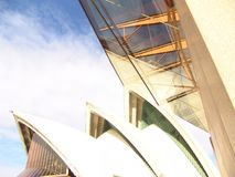 Opera house. The Sydney Opera House in the city of Sydney in Australia Stock Photo