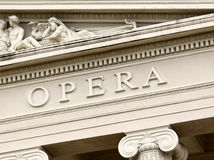 Opera house Royalty Free Stock Photos