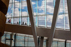 Opera house. The modern opera building at Oslo, Norway Stock Photo