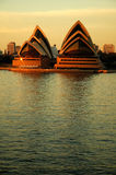 Opera house. In sydney, dusk photo Royalty Free Stock Image
