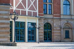 Opera house in Bayreuth Royalty Free Stock Image