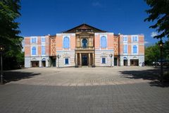 Opera house Bayreuth May 2013 Stock Photo