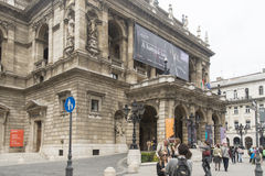 Opera House, Budapest Stock Image