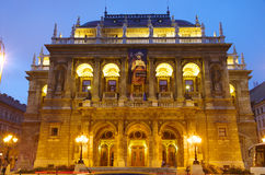 Opera House In Budapest Royalty Free Stock Image