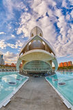 Opera house in the City of Arts & Sciences complex in Valencia Stock Photo
