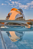 Opera house in the City of Arts & Sciences complex in Valencia Stock Images