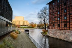 Opera house in the city of Bydgoszcz, Poland Royalty Free Stock Images