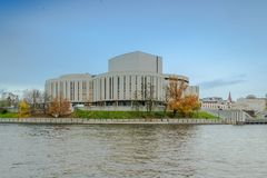 Opera house in the city of Bydgoszcz, Poland Royalty Free Stock Image