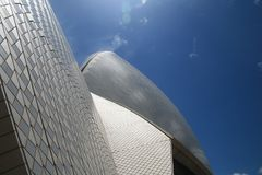 Opera House close up Royalty Free Stock Photo