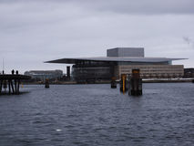 Opera House - Copenaghen - Denmark royalty free stock image