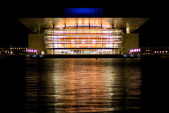 Opera house in Copenhagen Royalty Free Stock Image