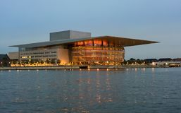 Opera House in Copenhagen Denmark Royalty Free Stock Photo