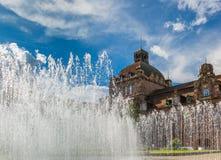 Opera House dome-Nuremberg, Germany Royalty Free Stock Photo