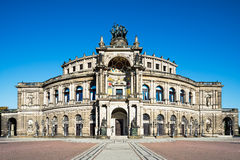 Opera house in Dresden Royalty Free Stock Photos