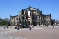 Opera House, Dresden, Germany Stock Photos