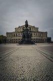 Opera House in Dresden Royalty Free Stock Photos