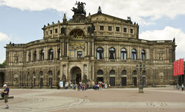 Opera House, Dresden, Germany Stock Images