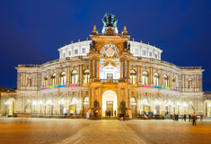 Opera house of Dresden, Germany Stock Photography