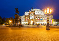 Opera house of Dresden, Germany Stock Photo