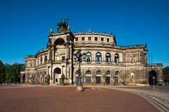 Opera house in Dresden Stock Images