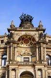 Opera house Dresden Stock Photo