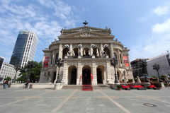 Opera House in Frankfurt am Main Royalty Free Stock Image