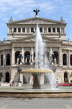 Opera House in Frankfurt am Main Royalty Free Stock Photography