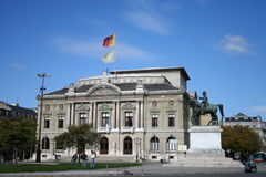 Opera House, Geneva, Switzerland Stock Image
