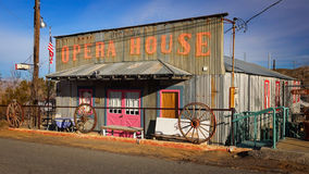 Opera House in Ghost Town of Randsburg Stock Image