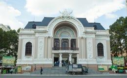 Opera House in Ho Chi Minh City Stock Image