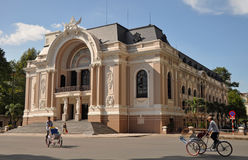 Opera House, Ho Chi Minh City, Vietnam Royalty Free Stock Images